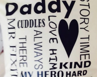 Daddy Cushion Cover
