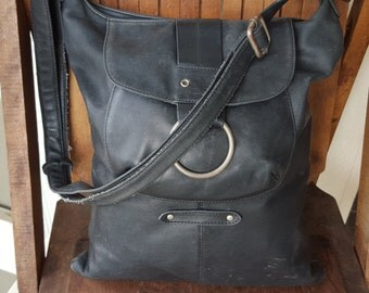 BOBO   ///   Leather Large Bag
