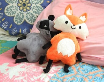 Cute Fox Plush Doll