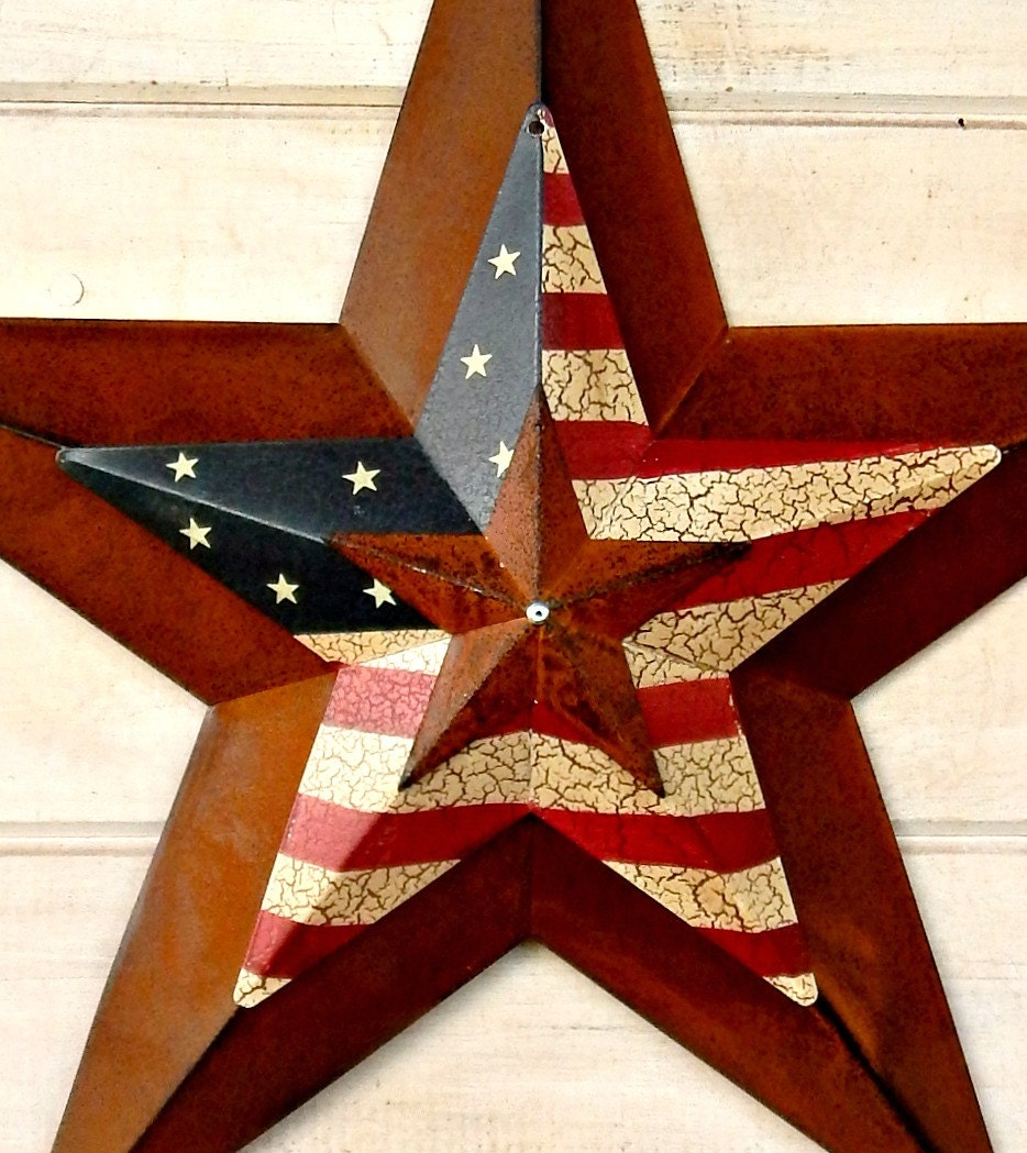 Star home decor star wall hanging primitve american barn star gallery photo gallery photo gallery photo amipublicfo Choice Image