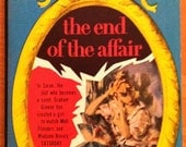 Vintage Paperback Bantam A1306,  'End Of the Affair' by Graham Greene, 1st Thus 1955; NM Cond.