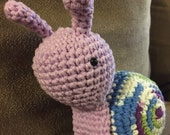 Crochet Snail - Made to Order