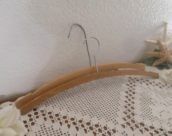 Vintage Wood Hanger French Country Farmhouse Eco Friendly Cottage Mid Century Home Decor Rustic Wedding Decoration Gift Her Him