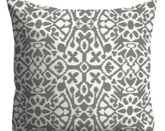 Grey decorative pillows, Grey Pillows, Neutral Pillows,Trellis Lattice Pillow Cover, Grey Pillows for couch, Throw Pillows