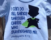I Can do All Things t-shirt 24 months