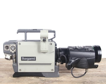 Production Movie Camera / Professional Broadcast Ikegami HC-240 Camera Fujinon Lens / Vintage Movie Camera / Movie Prop / Unique Camera Prop