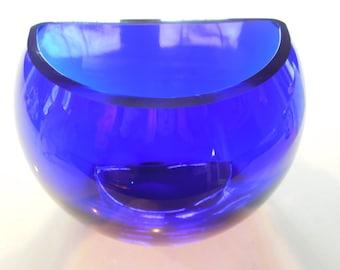 flower vase, glass vase, modern vase,  colbalt blue vase, vase,