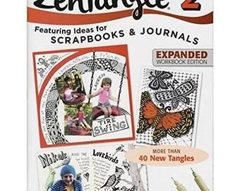 Design Originals  Zentangles   Zentangle 2, Zentangle 3, Zentangle 4 and Zentangle 7