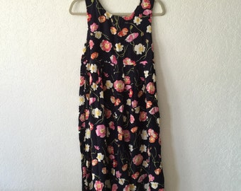 90's // Express Floral Dress