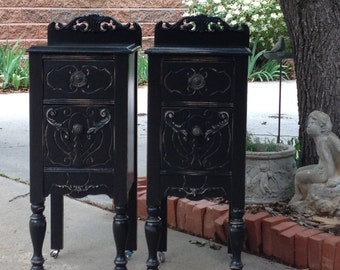 Antique Nightstands Will Refinish Paint In Any Color Designer Bedside Tables