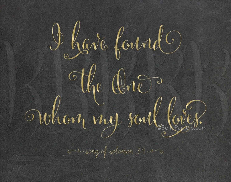 Wedding Bible Song of Solomon 3:4 Wedding Bible Verse I have