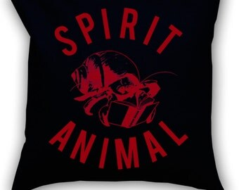 Introvert Spirit Animal 14 x 14 Throw Pillow (CASE ONLY)