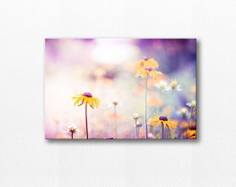canvas wall art flower photography canvas print 12x12 24x36 fine art photography nature floral photography canvas wrap gallery lilac peach