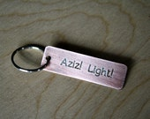 Aziz!  Light! - Key Chain