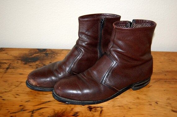 vintage knapp steel toe boots vintage mens steel toe work