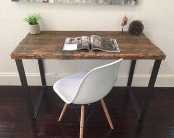 Reclaimed Cedar Wood Desk