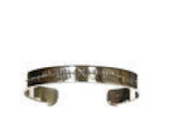 Ogham Gra Go Deo Bracelet (love forever)