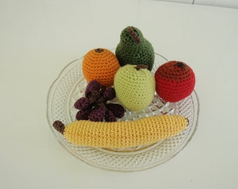 Playfood fruit crochet