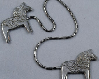Dala Horse Bookmark Made in America by Aristocraft Pewter