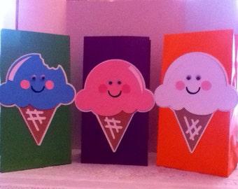 Cute Ice-Cream Goody Bags
