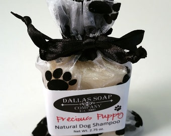 Precious Puppy Natural Dog Shampoo Bar