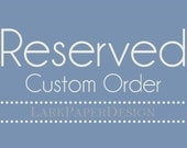 RESERVED FOR AMI It's a Girl Scalloped Tags