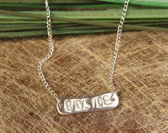 Sterling Silver Bayside / Seaside Necklace
