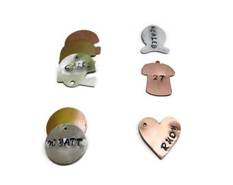 Add on Stamped Charms