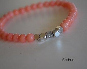 Yoga Stretch Bracelets ...  Coral (1373)