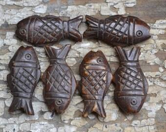 Bone fish pendants  BP359