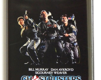 Ghostbusters Movie Poster Fridge Magnet