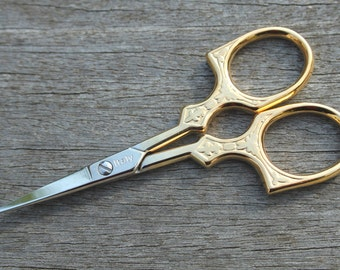 Scissors for lacemaking and embroidery