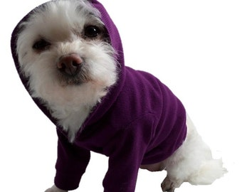 Dog Hoodie-Dog Hoodies-Dog Clothes-Dog Sweater-Dog Shirts-Purple Dog Shirt-Dog Clothing-Shirts for Dogs-Dog Apparel-Dog Sweaters