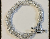 Byzantine Variation Sterling Silver Bracelet