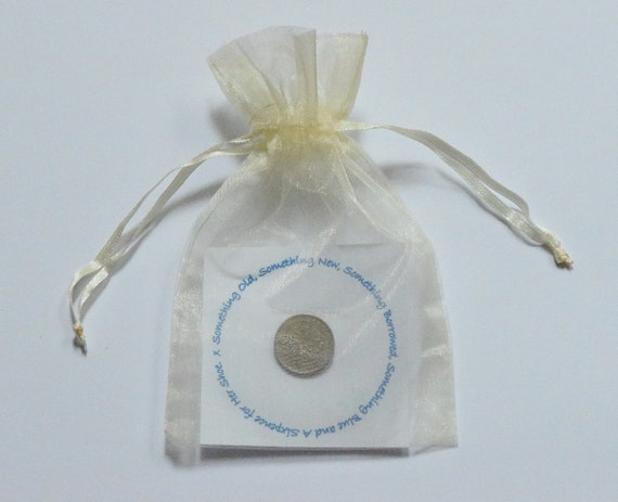 Brides Lucky Sixpence Bridal Gift Bridal Shower