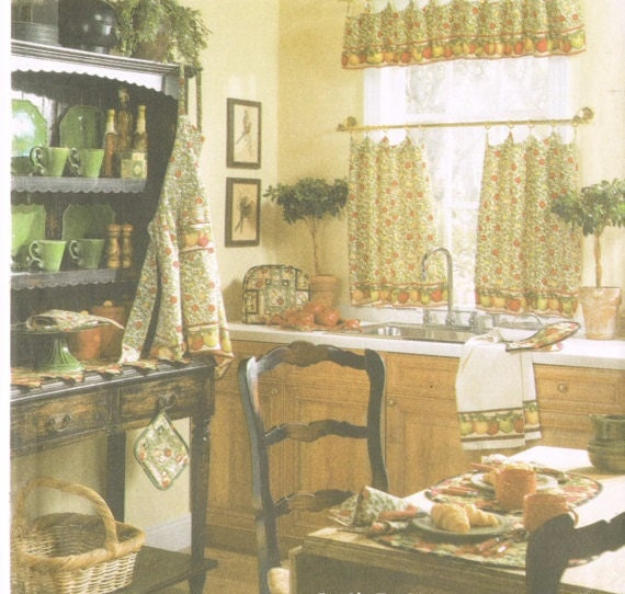 Simplicity 5298 2000s Sewing Pattern Home Decorating Kitchen