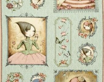Quilting Treasures - SANTORO - Mirabelle Picture Patch Panel