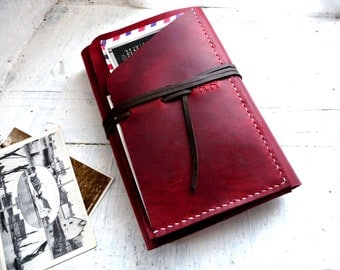 leather moleskine cover. Large moleskine leather case. Travel journal cover. Notebook cover