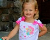 Personalized Birthday Bubble Fish Shirt or Bodysuit