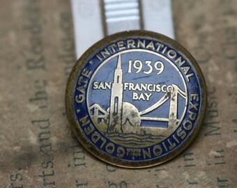 1938 Golden Gate International Exposition Lapel Pin