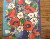 Michael Marsden Mid Century Floral Print 1968