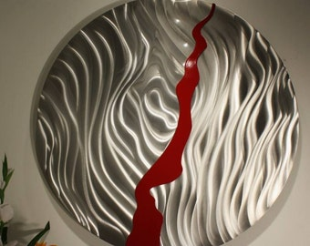 Wilmos Kovacs Contemporary Metal Wall Decor Metal Wall Art Sculpture  - W44