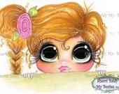 INSTANT DOWNLOAD Digital Digi Stamps Big Eye Big Head Dolls Bestie New Bestie  Img614 My Besties By Sherri Baldy