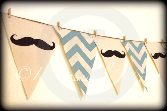 Mustache Banner