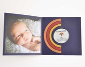 Birth Announcement Record Album