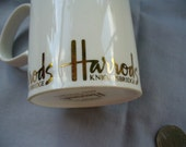 Harrods Bone China Mug