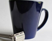 Cobalt Blue Shaving Mug - Men's Grooming - Father's Day Gift - Wet Shaving