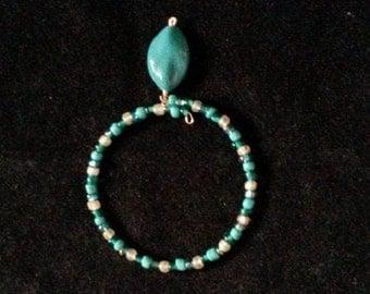 Turquoise Drop Bracelet
