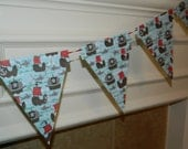 Pendent Banner Templates - Make your own Banners - PDF Applique Template - Birthday Banner - DIY - Fabric Banners or Cardstock Banners