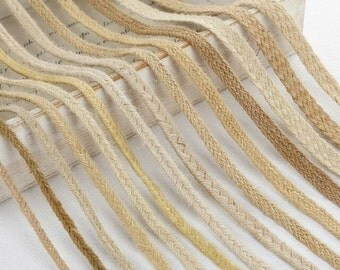 10 yards Linen Rope, Decorative Rope Linen Cord Wide (T177)
